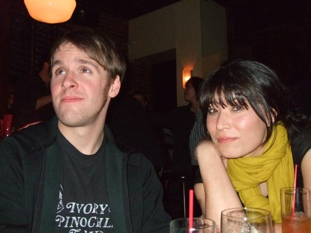 Blake Butler with Sabra Embury