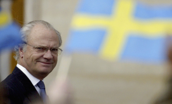 "King Carl XVI Gustaf of Sweden, who gives out the Nobel Prizes. He's kind of handsome, right? Got that ""silver fox"" thing going on."