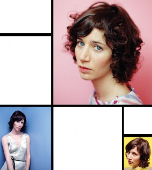 Miranda July arranged as Mondrian
