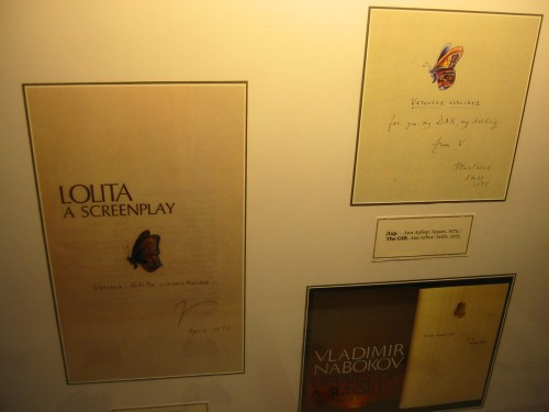 416 St Petersburg - Nabokov Museum - Lolita screenplay