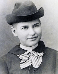 A young Willa Cather