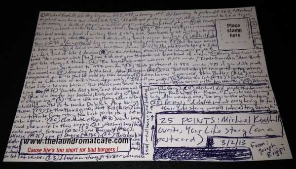 MK Postcard Back