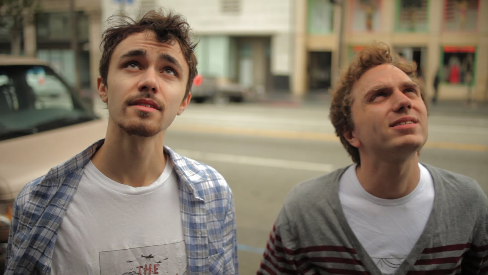 "Jordan Castro and Noah Cicero in ""Shoplifting from American Apparel"" (2012)."