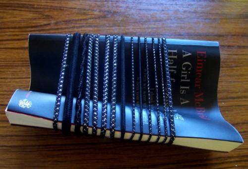 The book bound