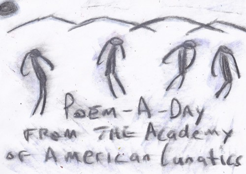 poem a day dying