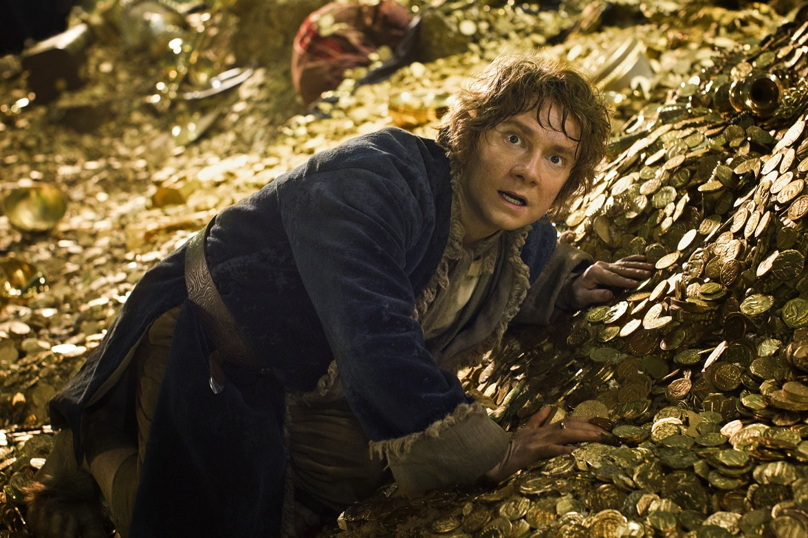 Bilbo and the gold