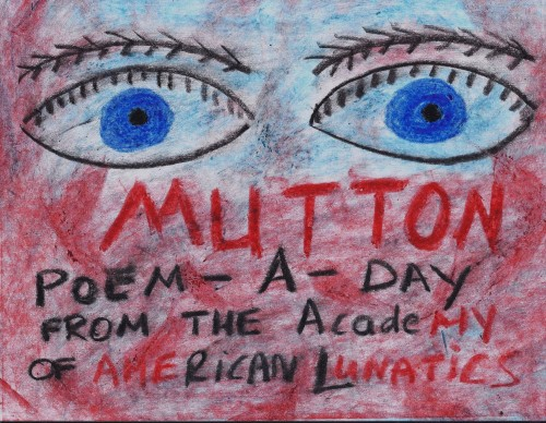 poem a day mutton
