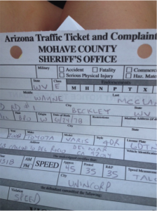 Good luck speeding ticket