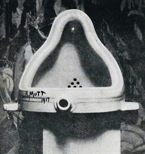 "Marcel Duchamp, ""Fountain"" (1917)"